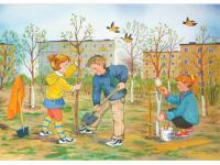 Весенние заботы. Младший дошкольный возраст # дистанционное обучение